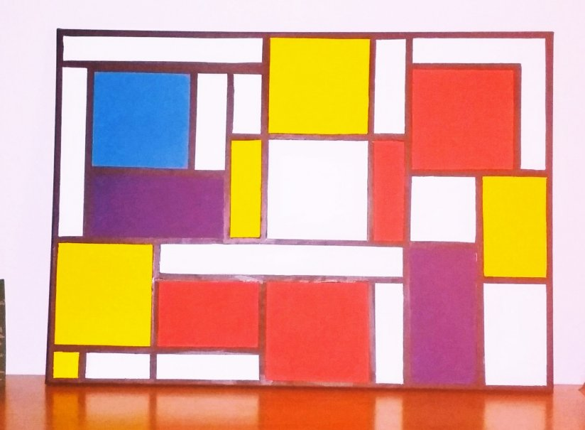 Mondrian in derFamilie